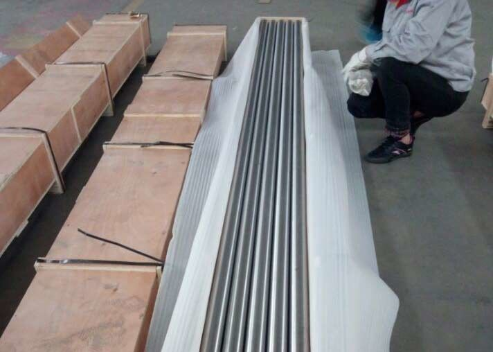 BT9 Anneal Titanium Alloy Bar Dia55mm For Well Logging Condition Anneal