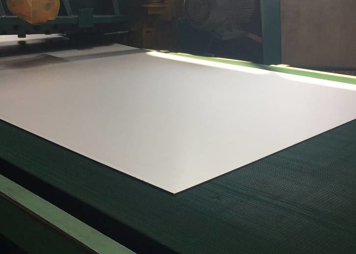 Mirror Surface Titanium Alloy Plate ASTM F67 Thickness 1.27mm For Medical Application