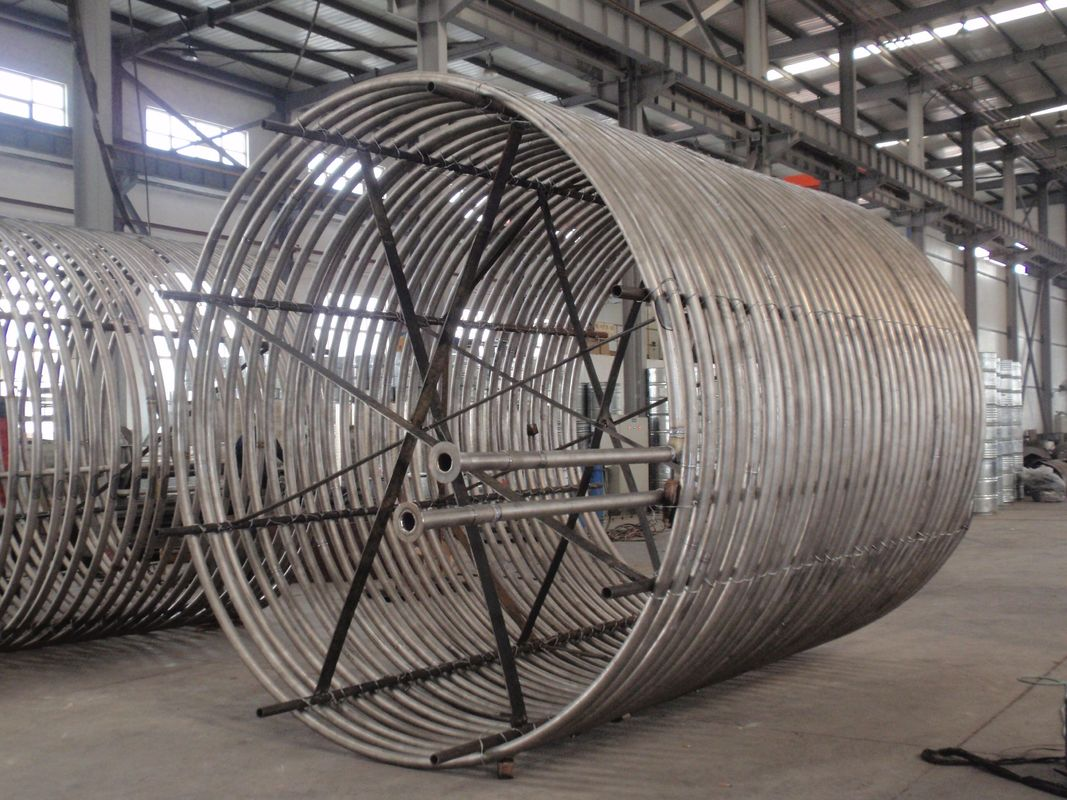 GR2 Titanium Equipment Titanium Coil Tube Heat Exchanger For Equipment Export To The British