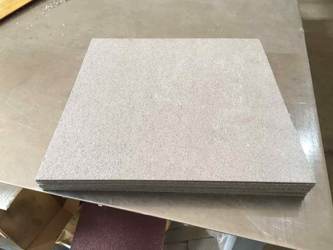 B1 Sintered Titanium Items Microporous Foam Sheet Thickness 2.0mm Stable