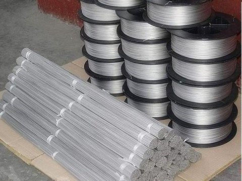 Soft GR1 Titanium Coil Wire Mesh For Weaving Mesh Sheet Using