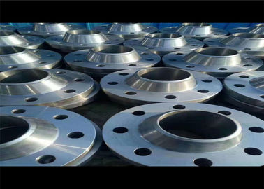 China ANSI B16.5 GR2 WN RF Titanium Forged Flanges , Industrial Pipe Flange For Oil Gas Industry factory
