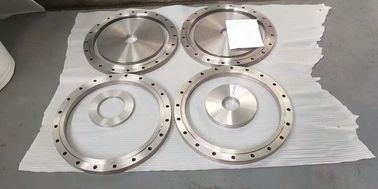 GR2 Pure Titanium Flange Bright Surface For Pressure Vessel Customized Size