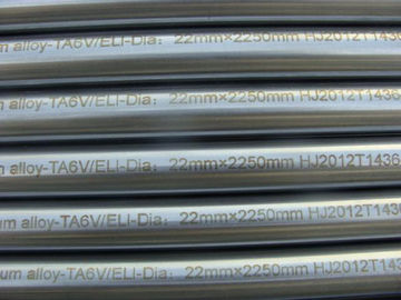 GR5 ELI Titanium Alloy Bar Rod Acc To ASTM F136 Dia22MM For Medical Implant